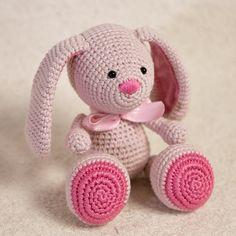 PATRÓN patrón de Amigurumi Bunny ganchillo por TinyAmigurumi