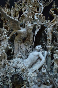 Quai 9 . 3/4 Statue Ange, Art Et Architecture, Instalation Art, Art Sculpture, Bernini Sculpture, Cemetery Art, Classical Art, Aesthetic Art, Oeuvre D'art