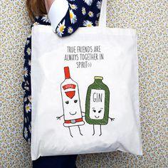 'Together In Spirits' Friendship Tote Bag