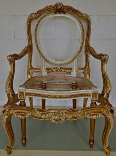 Gilded chairs www.houseofhollis.ca