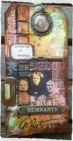 Tim Holtz 12 tags 2014 - August