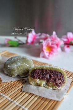 Andre's the Home Baker: ♥ Matcha Daifuku ♥