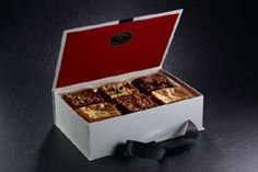 Luxury Gifts of Chocolate Chip Cookies & Brownies From Ruby et Violette - Ruby et Violette