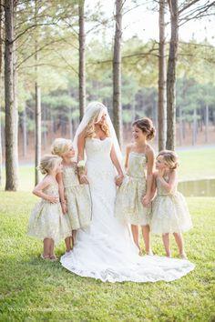 Unique Wedding Ideas: Add Sparkle with Sequins - flower girl idea; Archetype Studio Inc.
