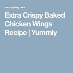 Extra Crispy Baked Chicken Wings Recipe   Yummly Air Fried Shrimp Recipe, Crispy Baked Chicken Wings, Chicken Wing Recipes