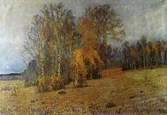 Isaac Levitan 1860-1900 October