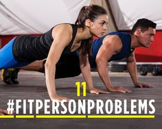 11 #FitPersonProblems Every Woman Faces at the Gym