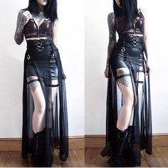 Gothic fashion 348958671121351163 - Tap the link now to see our super collection of accessories made just for you! Source by kypgy Style Outfits, Gothic Outfits, Grunge Outfits, Cool Outfits, Fashion Outfits, Womens Fashion, Fashion Tips, Fashion Clothes, Fashion Ideas