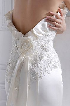 Sexy back satin mermaid style wedding dress,Style Outdoor Wedding Dress, Cute Wedding Dress, Fall Wedding Dresses, Colored Wedding Dresses, Wedding Dress Styles, Bridal Dresses, Dream Wedding, Wedding Gowns, Bridal Gown