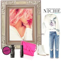 """Pinch of Pink"" by niche-magazine on Polyvore"