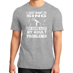 Sing ignoreproblems District T-Shirt (on man)