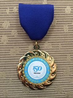 San Antonio Express-News medal celebrating our 150th anniversary, currently only available during our giveaway on Twitter! Watch our Twitter feed each day, Monday, April 20, 2015 through Friday, April 24, 2015, at noon and 2:30 p.m. for a chance to win!