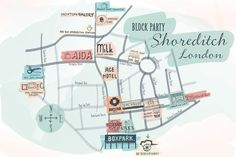 Shoreditch Hotspots #london