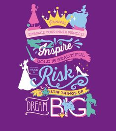 Disney Princess No Sew Fleece Throw-Dream Big, All Disney Princesses, Disney Princess Quotes, Disney Princess Party, Disney Songs, Disney Quotes, Disney Girls, Disney Love, Disney Princess Letter, Cinderella Princess