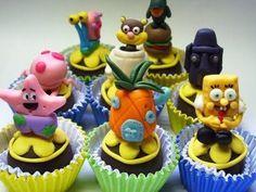 SpongeBob Cupcakes, Cute Cupcakes, Whoa Mumma