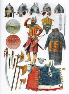 Middle ranking Mamluk amir - Arms and Armour of the XV and early XVI centuries Medieval Knight, Medieval Armor, Medieval Fantasy, Armadura Medieval, Military Art, Military History, High Middle Ages, Arm Armor, Knights Templar