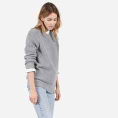 The Chunky Knit Boyfriend Crew - Everlane