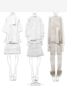 Great for your fashion portfolio of fashion sketchbook ideas. Fashion Art, Fashion Collage, Moda Fashion, Editorial Fashion, Trendy Fashion, Fashion Models, Fashion Kids, Fashion Boots, Portfolio Mode