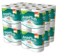 Angel Soft Toilet STOCK UP PRICE ...ANGEL SOFT DOUBLE ROLLS 48 CT LOW AS $17.90 ~ AMAZON COUPON DEAL, SUBSCRIBE & SAVE