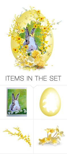 """Forsythia Contest"" by theonly-queenregina ❤ liked on Polyvore featuring art"