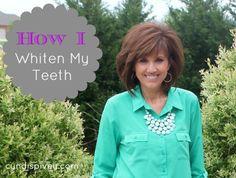 How I Whiten My Teeth (YouTube Video)