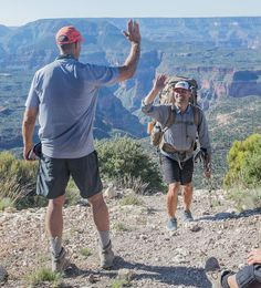 Because everyone deserves a high five when hiking or backpacking...