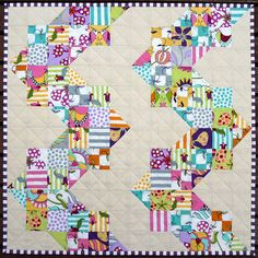 Fab Doll's quilt from Red Pepper Quilts #quilt #sew