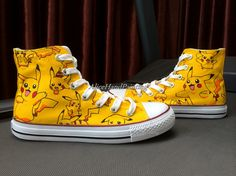 Custom Yellow Converse Hand Painted Shoes Custom Anime Converse,Custom Painted Shoes,Custom Shoes,Converse Customize Birthday Gifts on Etsy, $69.00