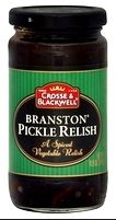 Crosse & Blackwell Pickled Relish (another English delicacy): Has a great crunch to it and in lots of ways better than regular relish...