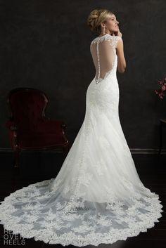 Amelia Sposa 2015 Wedding Dress Style: Valensia   Heart Over Heels #bridal #designer