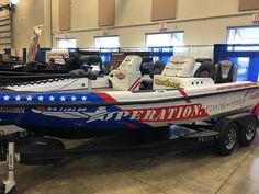 Some good looking #recon #fishing #boats at the #Milwaukee #Muskie #expo