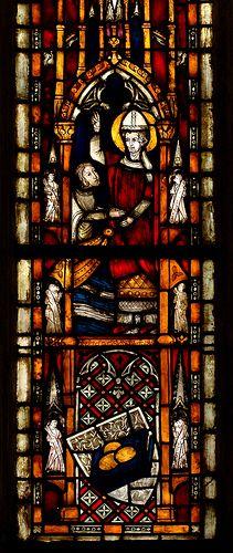 Xanten, Dom St. Victor, window, north aisle