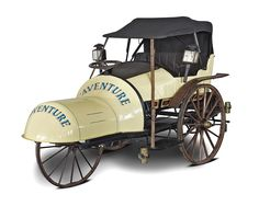 Aventure 1882. On-off pedal vehicle for road use. Museo Nicolis vintage car collection. French classic car.
