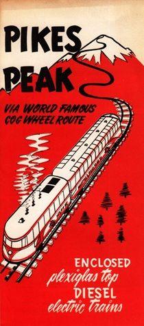 Pikes Peak, CO Vintage Brochure