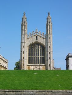 King's College Chapel, Cambridge University, Cambridge, UK. Founded in 1441 by King Henry VI.