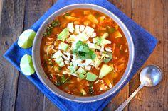 Vegan Pozole Rojo w/ Hominy & Quinoa