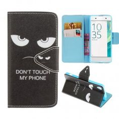 Sony Xperia XA do not touch my phone puhelinlompakko.