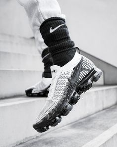 01dc3abe4 Nike Air VaporMax Flyknit 2  Zebra  Shoes Sneakers