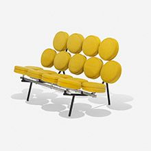 George Nelson & Associates, Marshmallow Sofa. EST: 4 970 GBP. Wright. Barnebys.co.uk