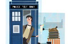 Doctor Who Peter Capaldi Banana Daiquiri