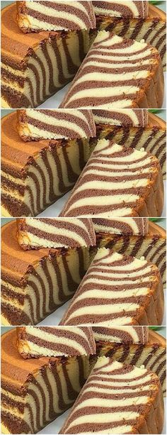 Start by beating the egg whites. At this point, # recipe # cake # pie # sweet # dessert # birthday # Torta Zebra, Oreo Torta, Delicious Cake Recipes, Yummy Cakes, Dessert Recipes, Sweet Desserts, Sweet Recipes, Glass Gem Corn, Low Carb Bun