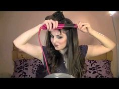 Tutorial: Katherine Pierce / Nina Dobrev makeup, Hair Fashion (Vampire Diaries Part this girl is wierd but i like her tips lol Curled Hairstyles, Diy Hairstyles, Pretty Hairstyles, Nina Dobrev Makeup, Beauty Secrets, Beauty Hacks, Katherine Pierce, Hair Dos, Fall Hair