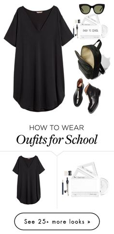 """""""Back to school"""" by thestyleartisan on Polyvore featuring H&M"""