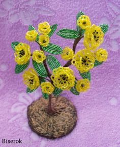 Tree of Happiness on Pinterest | Bonsai, Beaded Flowers and Beads