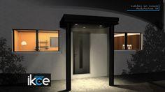 Auvent porte d'entrée v2 | ikce design
