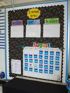 Learning goals / targets slide into the pockets  Good idea for displaying Learning Targets  cmc