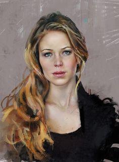 Create Portraits by Thiago Moura Januario #digitalart #portraits #painting…