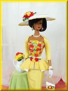 OOAK Spring Fashion for Silkstone/Vintage Barbie & Fashion Royalty~Joby  #JobyOriginals