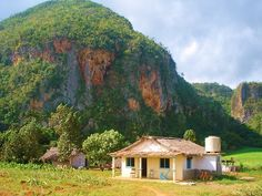 Bohío and Mogotes in Viñales, Cuba - setting for Caribbean Freedom, third & final Island Legacy Novels. For info on purchasing copies of Caribbean Freedom, visit me at www.terimetts.com and ck under Novels.