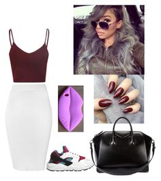 Untitled #56 by princesa-nia on Polyvore featuring polyvore fashion style Glamorous NIKE Givenchy clothing
